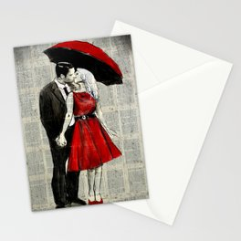 SHE WORE RED Stationery Cards
