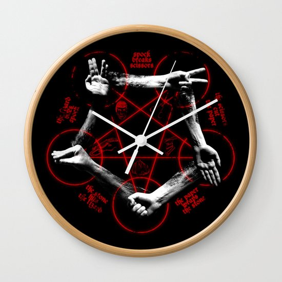 The game of the Beast Wall Clock