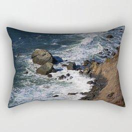 Muir Beach Overlook III Rectangular Pillow