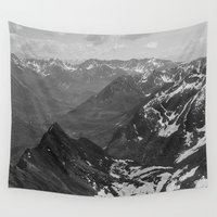 kevin russ Wall Tapestries featuring Archangel Valley by Kevin Russ