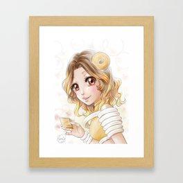 Baumkuchen Framed Art Print