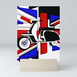 Scooter UK Mini Art Print