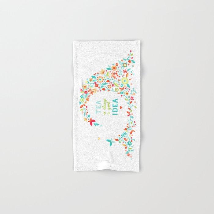 Tea Idea Hand & Bath Towel
