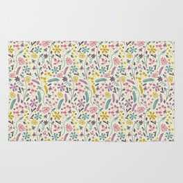 Retro Blooms (Candy) Rug