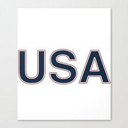 back to back usa world war champs america t-shirts Canvas Print