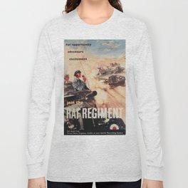 Vintage poster - Royal Air Force Long Sleeve T-shirt