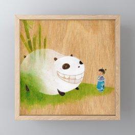 AiLiSi in wonderland Framed Mini Art Print