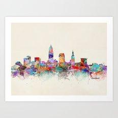 Cleveland Ohio Art Print
