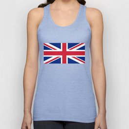 UK Flag - High Quality Authentic 1:2 scale Unisex Tank Top