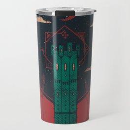 The Crimson Tower Travel Mug