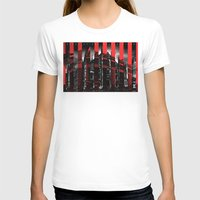 milan T-shirts featuring Milan by James Campbell Taylor