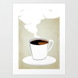 Neapoletan Breakfast Art Print