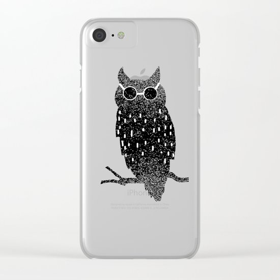 cool bird Clear iPhone Case