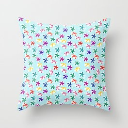 Holiday Mints Throw Pillow
