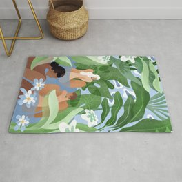 Lovers of the sea Rug