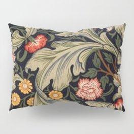William Morris Laurel Multi-Colored Floral Textile Pattern Sunflower, Aster, Dahlia Pillow Sham