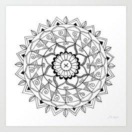 Calma Art Print