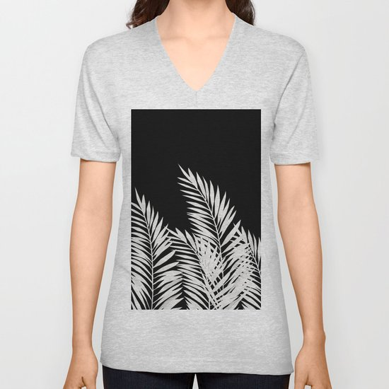Palm Leaves White by lavieclaire