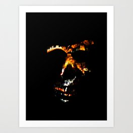 Death Charmer Art Print