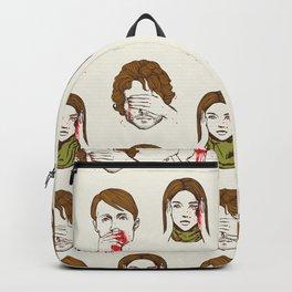 No Evil  Cannibalism Backpack