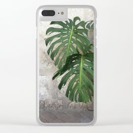 Arequipa Plants v.2 Clear iPhone Case