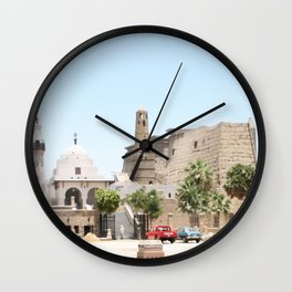 Temple of Luxor, no. 14 Wall Clock