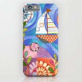 Summer Harbor iPhone Case