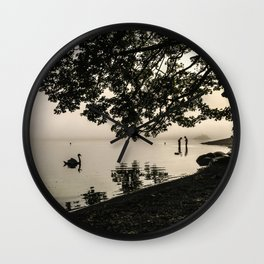 The Young Lovers at Windermere Wall Clock