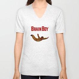 Brain Boy Unisex V-Neck