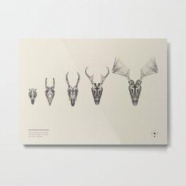 The Growing Circle Metal Print