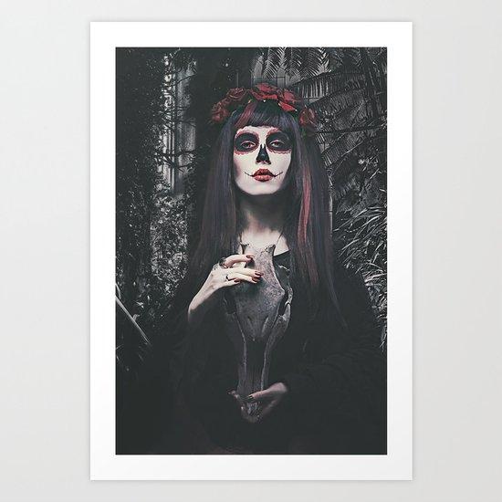 Catrina Day of the Dead Art Print