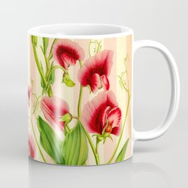 Vintage Sweet Pea Coffee Mug