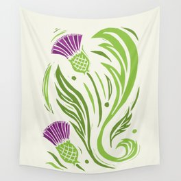 Thistle - Color Wall Tapestry