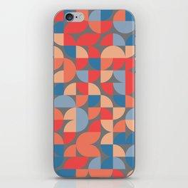 Quadrant Grid 1 iPhone Skin