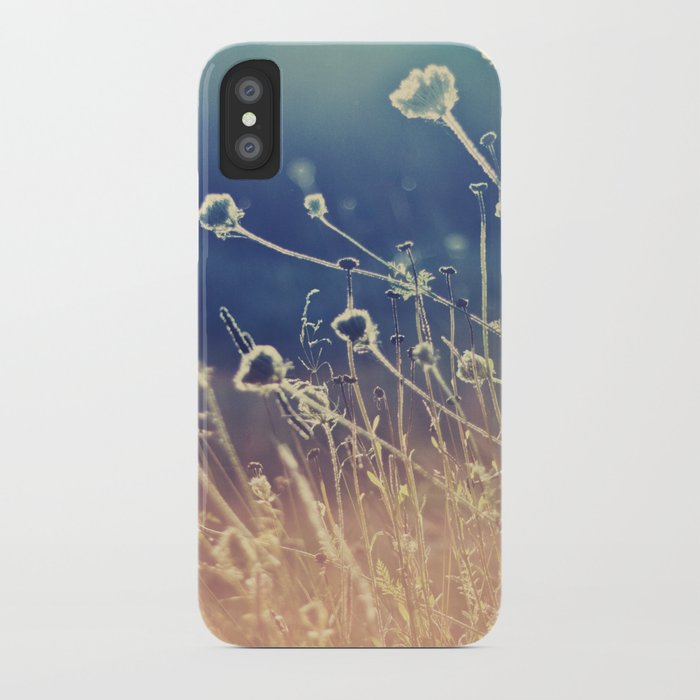 Blue and day  iPhone Case