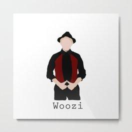 Seventeen - Woozi Metal Print