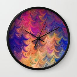 MARBLING PATTERN-4 Wall Clock