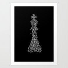 King Pin Art Print