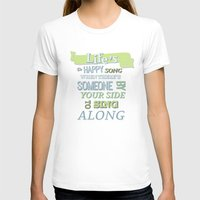 muppets T-shirts featuring The muppets.. lifes a happy song.. by studiomarshallarts