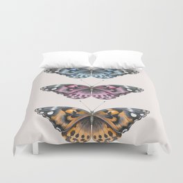 Three Butterflies Duvet Cover