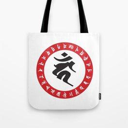 Fudo Myo-O Kahn Sanskrit character Tote Bag