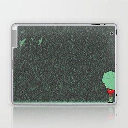 rain falls Laptop & iPad Skin