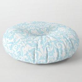 SOFT BLUE PARSLEY Floor Pillow