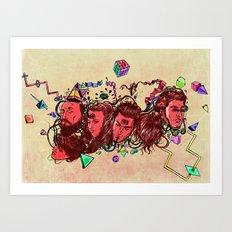 A New Year Art Print