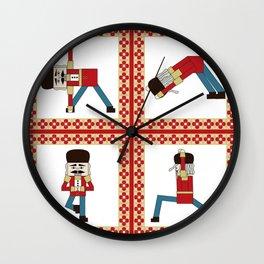 Nutcracker Zen Wall Clock