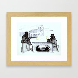 The Exit Framed Art Print