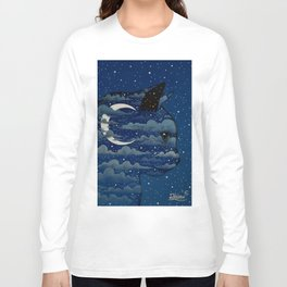 LUNA CAT by Raphaël Vavasseur Long Sleeve T-shirt
