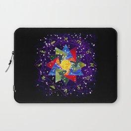 Astrological Circle Laptop Sleeve