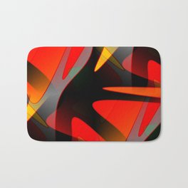 Abstract Reach Bath Mat