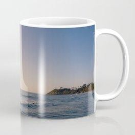 Longboard Surfer Coffee Mug